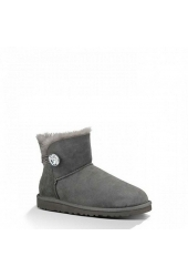 Mini Bailey Button Bling Grey 1003889