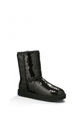 Угги Sparkles Classic Short Black 3161