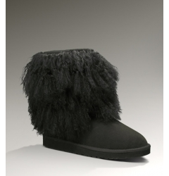 Short Sheepskin Cuff Black 1875 размер 36, 38
